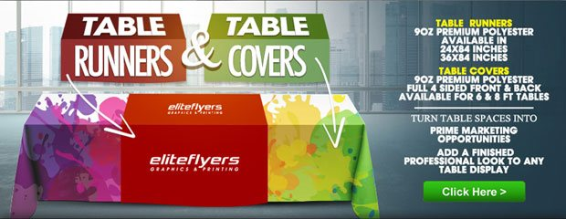Table Runners And Table Covers