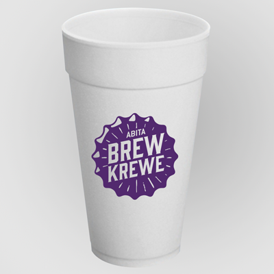 foam-cups-custom-printed-32oz