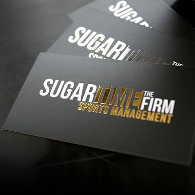 Foil Stamped Business Cards Sliver Gold Or Copper Foil