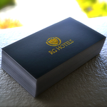 gold-foil-stamping-silk-laminated-business-cards