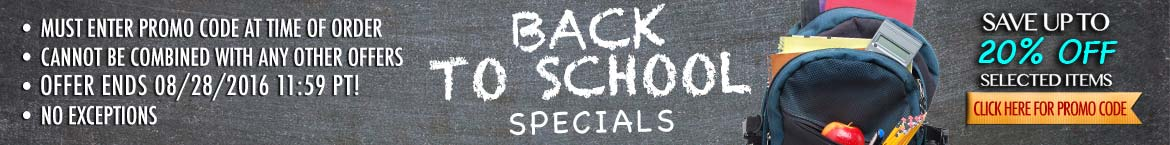 Back To School Printing Specials