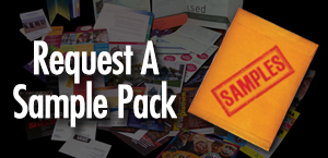 Free Samples of Business Cards, Flyers, Postcards, brochures and more!