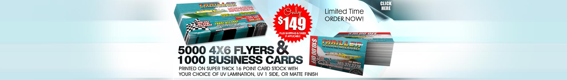 Flyer and Business Card Printing Special