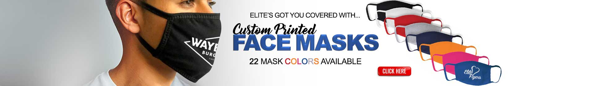 Custom Printed Mask, Face Masks and Face Covers