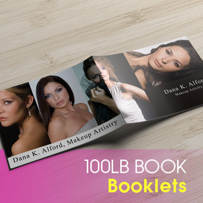 Booklets Printed in Full Color on Premium 100lb Book Magazine Style Stock with Aqueous (AQ) Gloss and Saddle Stitch Binding