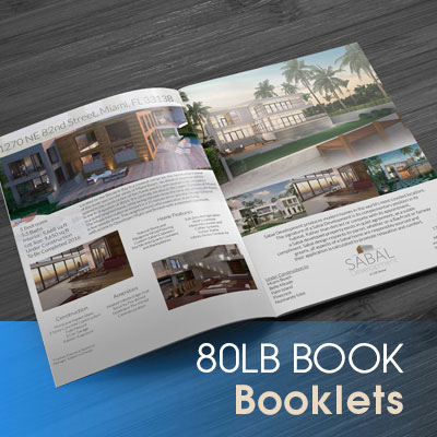 Booklets Printed in Full Color on Premium 80lb Book Magazine Style Stock with Aqueous (AQ) Gloss and Saddle Stitch Binding