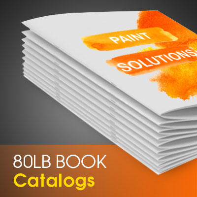 Catalogs Printed in Full Color on Premium 100lb Cover Stock with 80lb Book Inner Pages, Saddle Stitch Binded