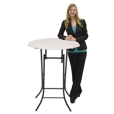 tall bar table, trade show round table bar height, counter height pub table