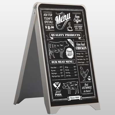 Chalk Board A Frame Sign