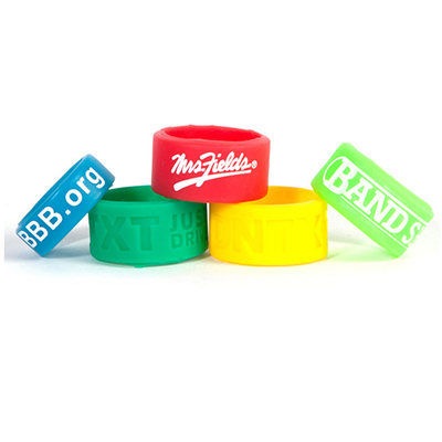 personalized rings, silicone ring printing, print rings, rubber rings
