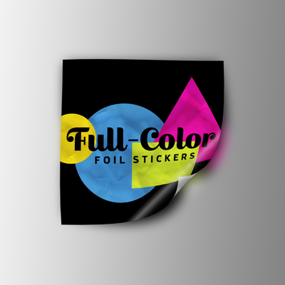 Full Color Foil Stickers