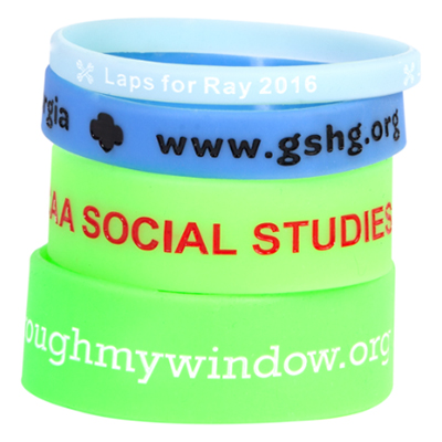 Glow Silicone Wristbands