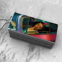 Full Color Foil Hang Tags