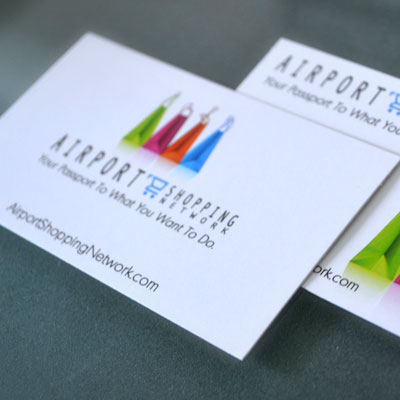 Linen Business Cards Printed in Full Color on 100lb Linen Stock