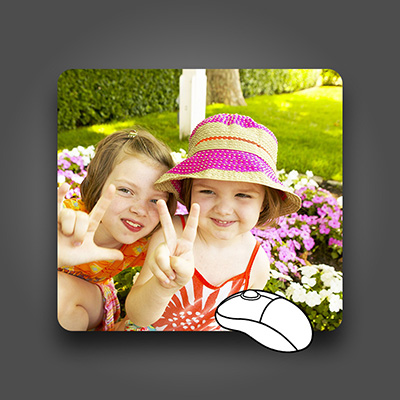 Custom Mouse Pad, Dye Sublimation Printed, Full Color Mouse Pads for Promotional Advertising