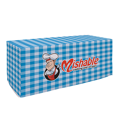 custom table covers, printed table cloths, table cover printing for outdoors