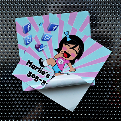 Paper Stickers Printed in Full Color for an Economical Price