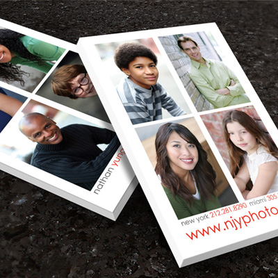 Postcards Printed in Full Color on 18pt c1s Card Stock