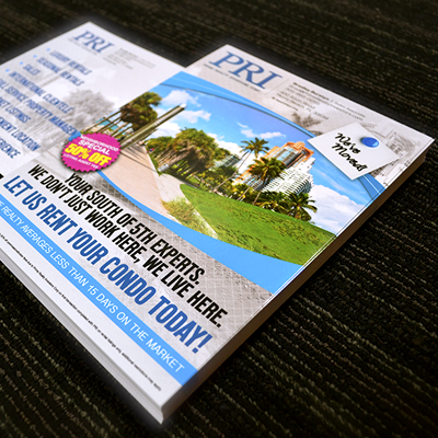 Postcards Printed in Full Color with Choice of UV Glossy, UV 1 Side, or Matte Finish