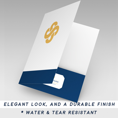 Silk Pocket Folders