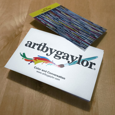 Silk Business Cards Printed in Full Color on One or Two Sides with 1.5mil Silk Lamination