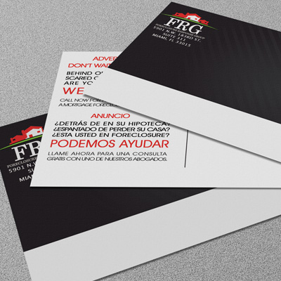 Silk Postcards Printed in Full Color on One or Two Sides with 1.5mil Silk Lamination