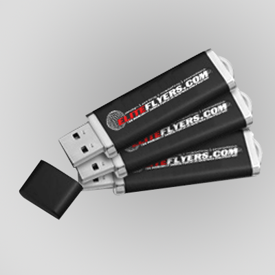 USB Jump Drive Promotional Style Click Pen Custom Printed with Company Logo
