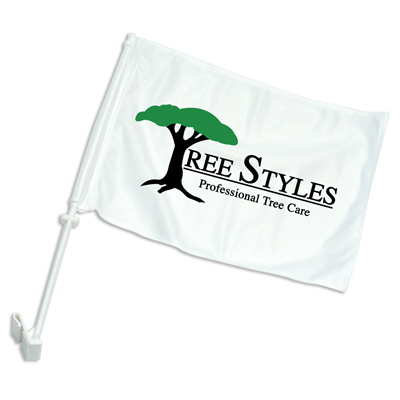 vehicle flag printing, car brand flags, promotional car flags