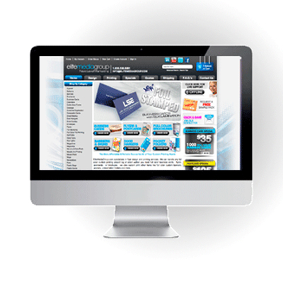 Web Design - Hire EliteFlyers.com to create your Web Banners, Website or Onling Shopping Store