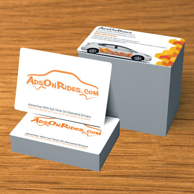 White Plastic Postcards Printed on 20mil Plastic in Full Color on 1 or 2 Sides with Rounded Corners