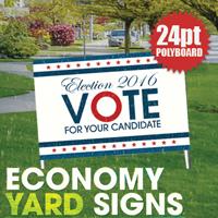 24pt Polyboard Yard Signs