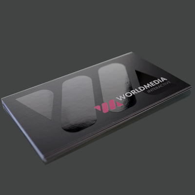 16pt matte with spot uv business card printed by elite flyers spot uv business cards 16pt matte card stock reheart Image collections