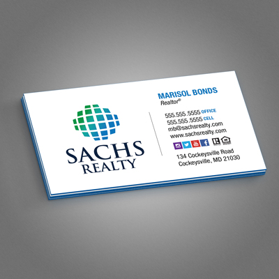 32pt silk business cards printed in full color with an array of 32pt silk laminated business cards reheart Choice Image