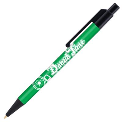 Retractable-Promo-Pen-Green