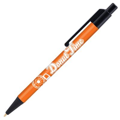 Retractable-Promo-Pen-Orange