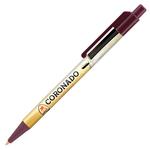 Retractable-Promo-Pens-Plus-Color-Trim-Burgundy