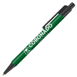 Retractable-Promo-Pens-Plus-Color-Trim-Dark-Green