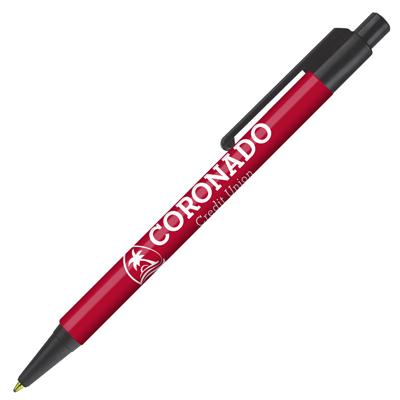 Retractable-Promo-Pens-Plus-Color-Trim-Dark-Red
