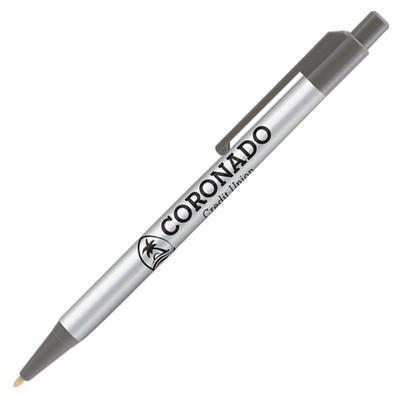 Retractable-Promo-Pens-Plus-Color-Trim-Gray