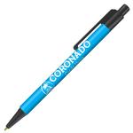 Retractable-Promo-Pens-Plus-Color-Trim-Light-Blue