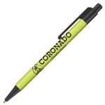 Retractable-Promo-Pens-Plus-Color-Trim-Lime