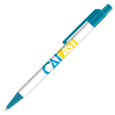 Retractable-Promo-Pens-Plus-Color-Trim-Teal