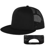 black trucker hats custom printing