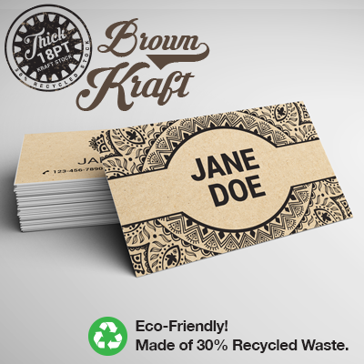 brown-kraft-business-cards-18pt-cardstock-dull-matte-finish