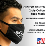 Face Mask Branded with Company Logo
