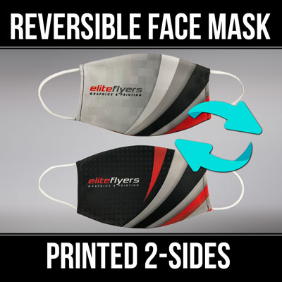 custom printed reversible face masks printed in full color on 2-sides