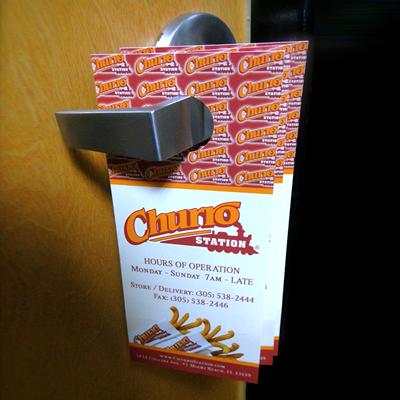 door-hangers-14pt-dull-matte-card-stock & Door Hangers Printed on 14pt Dull Matte Card Stock in Full Color ...