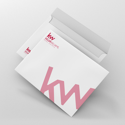 envelope 70lb white offset stock
