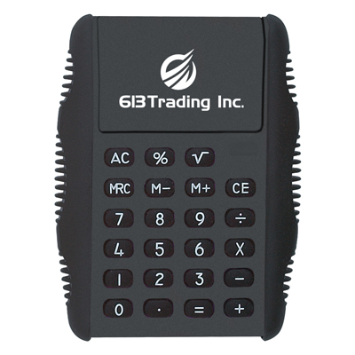 flip-calculators-imprinted-with-logo-black