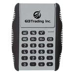 flip-calculators-imprinted-with-logo-silver